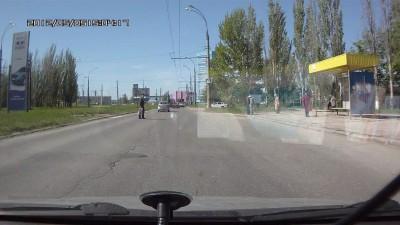 Где зона пешеходного перехода?