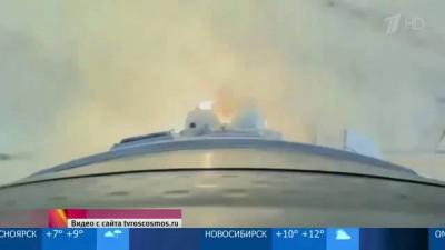 «Роскосмос» опубликовал кадры первого запуска с космодрома «Восточный»