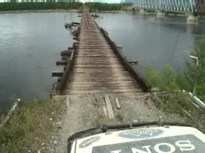 Мост через р.Витим. Только для смелых!
