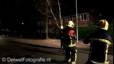 Помог пожарным