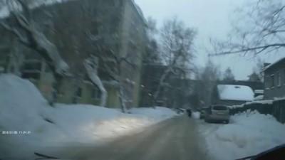 Пьяный пешеход .