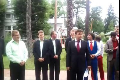 Танец Медведева