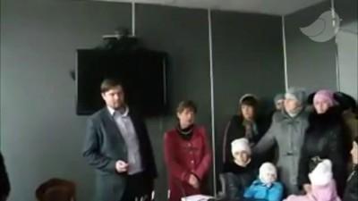 Голодный бунт в Енакиево. 17.11.14.