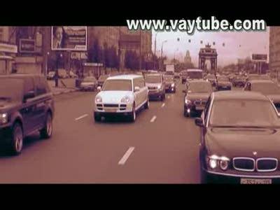 Чеченский свадебный кортеж