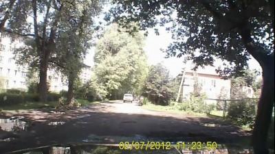 Подборка аварий с видеорегистратора 2012
