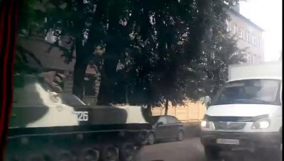 Военная техника в Костроме 21.06.2014