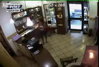 Ограбление ювелирного магазина по Итальянски