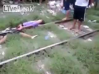 Переехал поезд