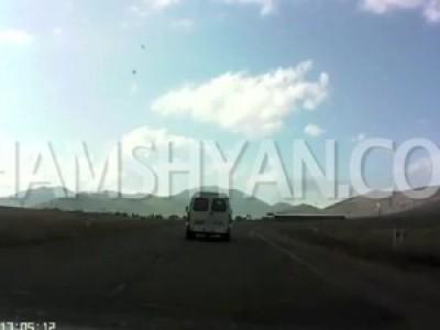 ДТП на трассе Ереван-Спитак