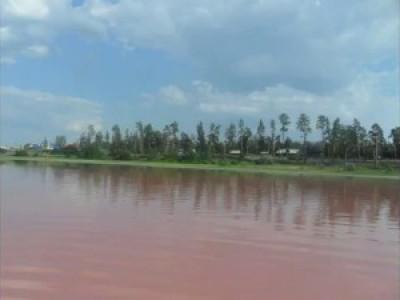 смотреть: Малиновое озеро в Алтайском крае,to look: A raspberry lake is in the Altaian edge