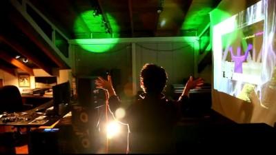 Управление прожекторами с помощью Kinect
