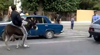 Решил поозабавить ментов в Дагестане