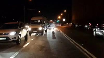 Киев: Porsche Panamera turbo S уничтожил Subaru Impreza - погибла девушка