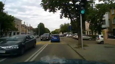 ДТП в Краснодаре 08.05.2014. Виновник У496СЕ скрылся