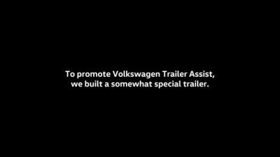 Behind the scenes - Volkswagen Trailer Assist - How we built the trailer