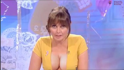 Carol Vorderman - HUGE Cleavage Loose Women