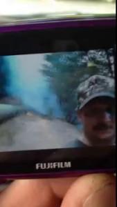 King Fire - Wayne Allen Huntsman's Selfie Video