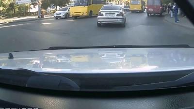 В Одессе житель Молдовы намеренно сбил пешехода