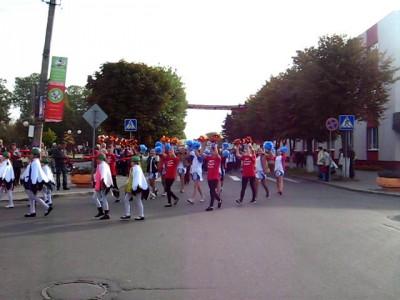Прарад участников Фестиваля Бега