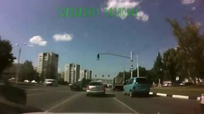 Опасная езда по Белгороду