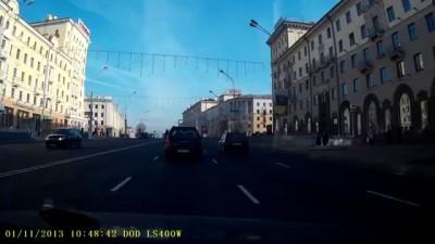 Падение мотоциклиста, Минск... + продолжение