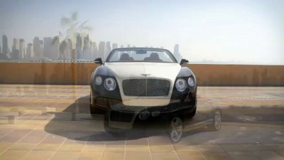 Bentley с бриллиантовым капотом