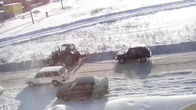 Нива vs трактор