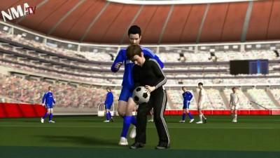 Chelsea's Eden Hazard kicks ball boy