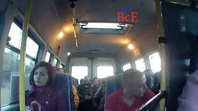 ЧП.Нападение на водителя маршрутного такси Санкт-Петербург.