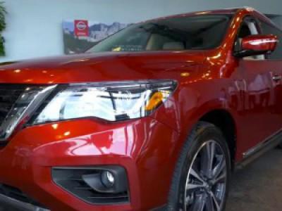 Nissan Pathfinder 2017 обзор #pathfinder