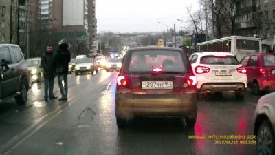 ДТП в Ростове 2015-01-23