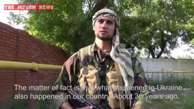 An Afghan Freedom Fighter in Donbass - ENG SUBS