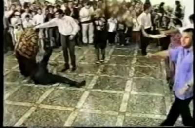 Бурная свадьба в Дагестане