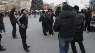 Новый год на центральной площади Владивостока