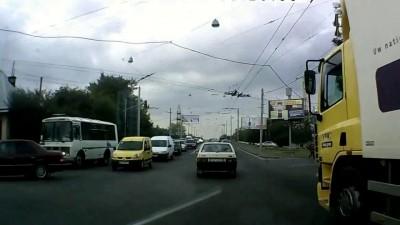 Езда по городу (Львов)