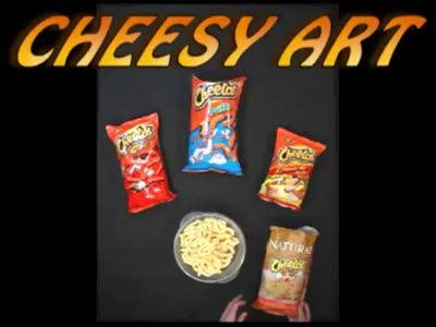 Портрет из чипсов Читос