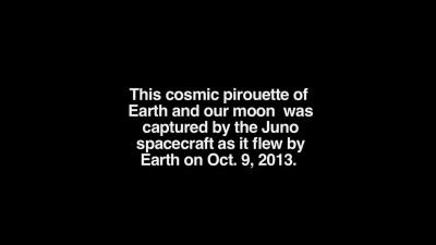 Земля-Луна с космоаппарата, JUNO