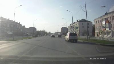 ДТП Ишим 23.09.2012