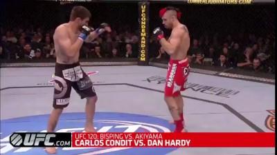 KO: Carlos Condit vs. Dan Hardy