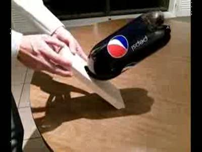 Интересный фокус с бутылкой