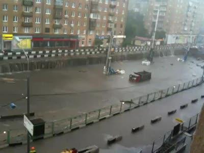 Начало потопа на Балтийской