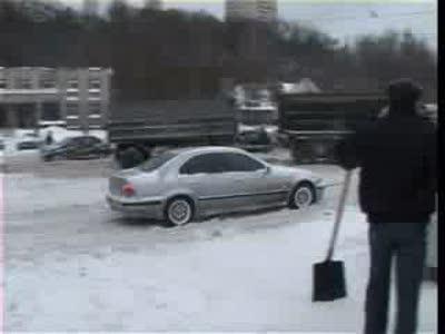 Снежный шторм в Одессе Часть 2