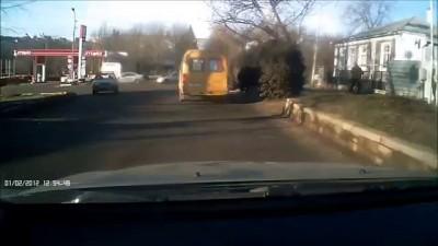 ДТП в Ставрополе у Спартака