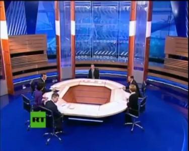 Интервью Дмитрия Медведева российским телеканалам 5 минут