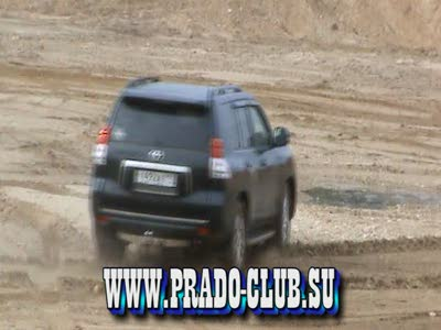 Как утопить Toyota Land Cruiser PRADO 150