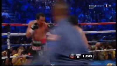 Manny Pacquiao vs. Juan Manuel Marquez Round 6 T.K.O Full 09.12.2012