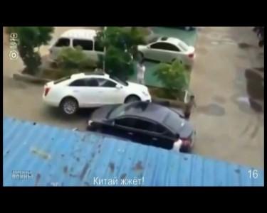 киатйцы лупасят автос