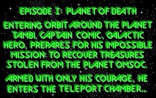 Captain Comic 1 (1988)