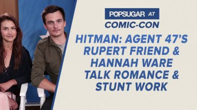 Rupert Friend Explains Why James Bond Would Be A Bad Date | Comic Con Interview