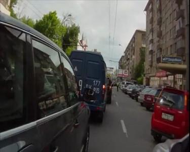 ТП спровоцировала падение мотоциклиста